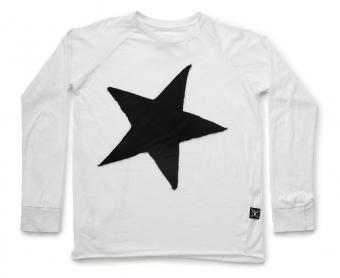 Star Patch Long Sleeve Tee by NUNUNU