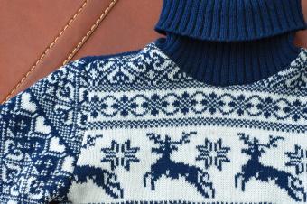 Toddler Boys Reindeer Sweater