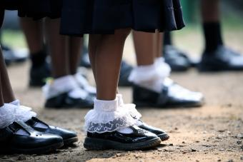 Girls Lace Socks
