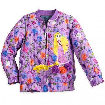 Disney Rapunzel Quilted Jacket for Girls