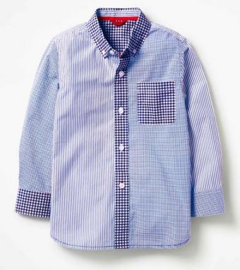 Hotchpotch Blue Laundered Shirt