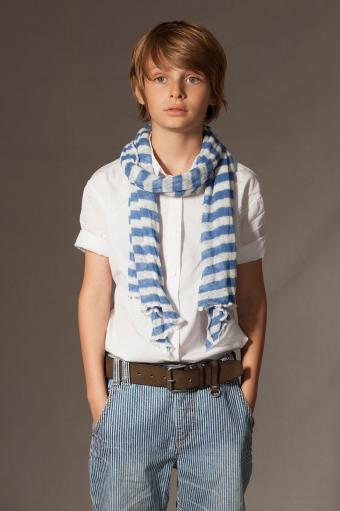 Boy with European flare