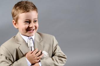 Linen Suit for Boys