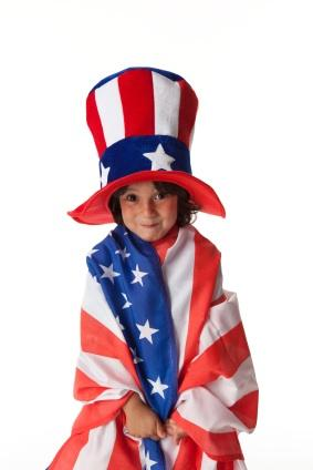 Patriotic Kids Hat