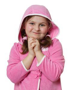 Girl's Flannel Housecoat