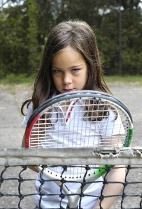Girls' tennis clothing