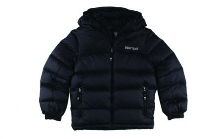 Marmot Kids Boys' Guides Down Hoodie from Zappos