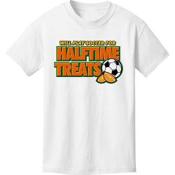 Halftime Treats Soccer T Shirt