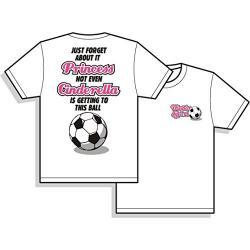 Cinderella Short Sleeve Soccer T Shirt
