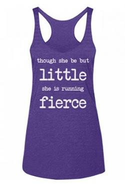 Running Fierce Racerback Tank