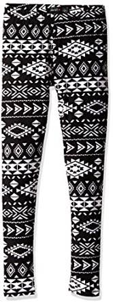 Girl's Printed Leggings at Amazon