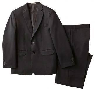 Dockers Boy's Husky Solid Herringbone Suit