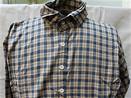 Youth Print Cotton Shirt
