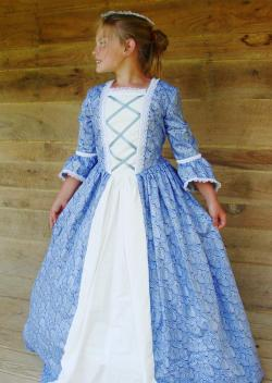 Colonial Girl's Dress