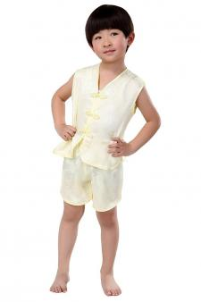 Satin Vest and Shorts Pajama Set