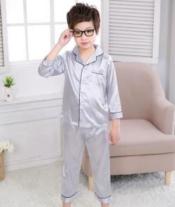 Boys Satin Pajamas at Sun-Bay