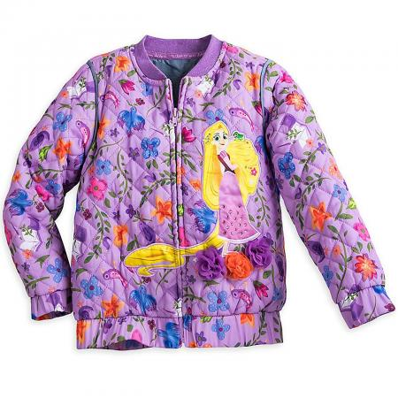 Disney Rapunzel Quilted Jacket for Girls