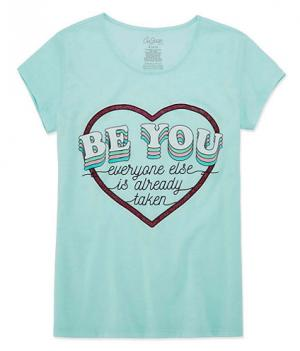 Be you anti bully tee for girls