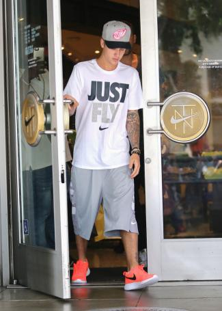 Justin Bieber in Los Angeles