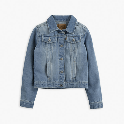 Little Girls Trucker Jacket