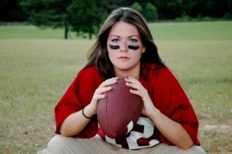girl football clothes