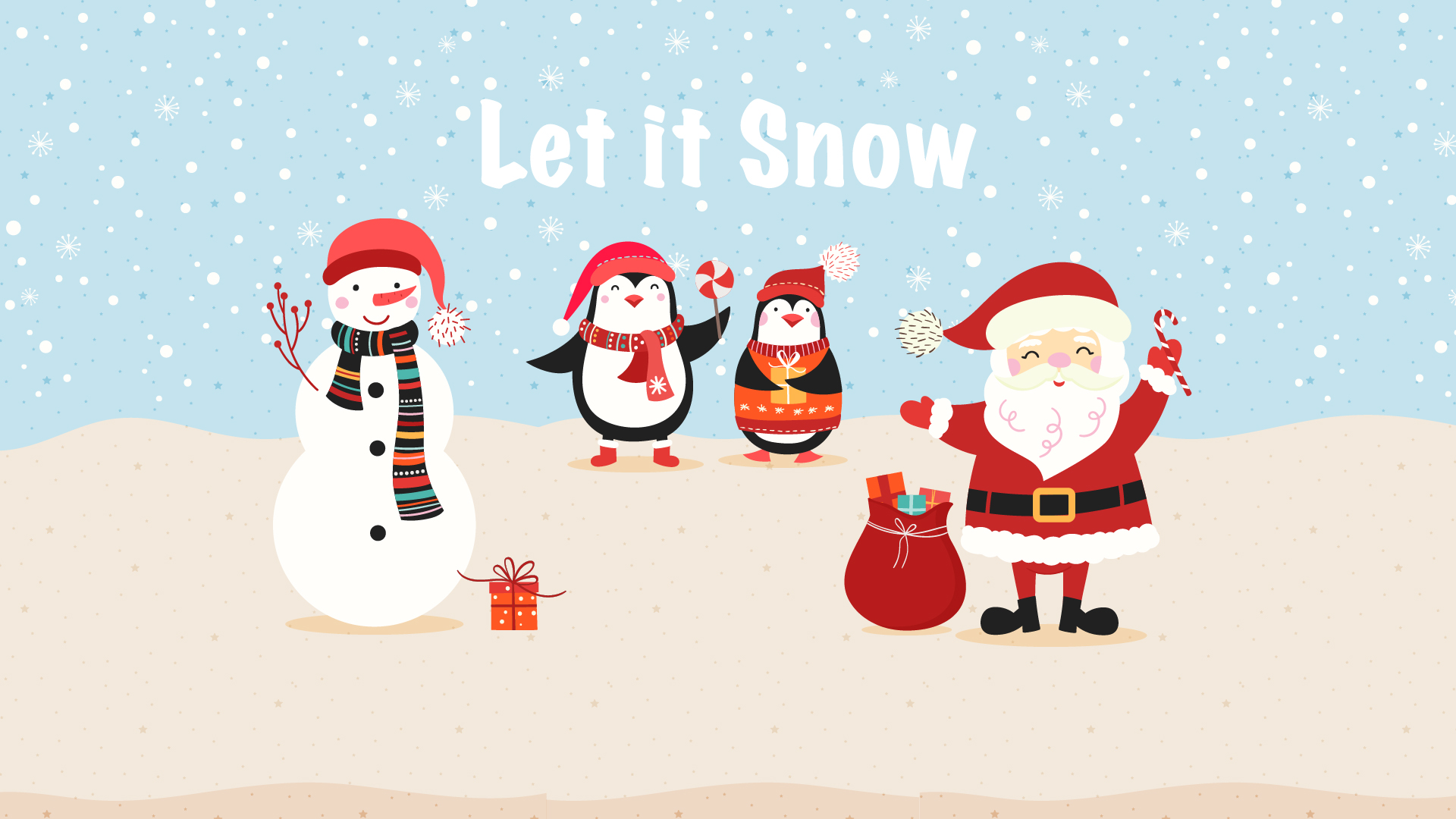 5 Free Festive Christmas Wallpapers for
