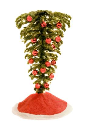 upside down christmas treejpg - Unusual Christmas Decorations