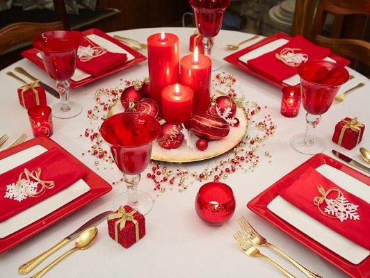Christmas Table Decoration Idea Gallery