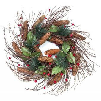 15 Wonderful Artificial Christmas Wreath Buying Options