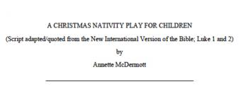 Click to download the children and youth play.