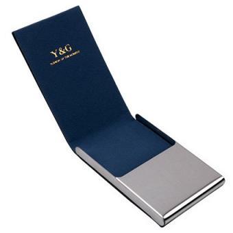 Y&G YDC06 Black Leather Card Case