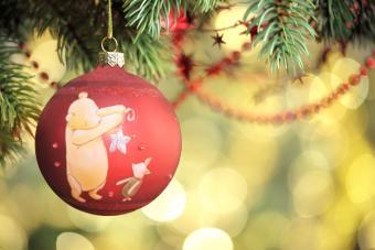 Pooh Christmas ornament
