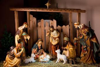 nativity manger scene