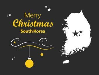 South Korean Christmas Card