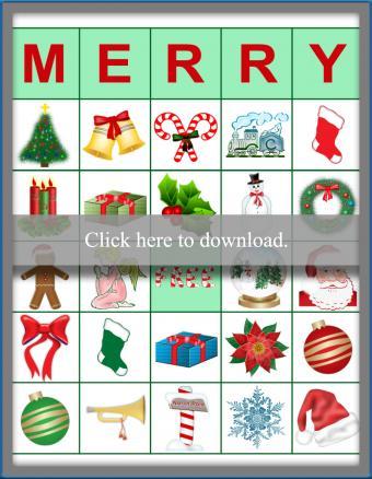 Merry Chirstmas Bingo Game Thumb