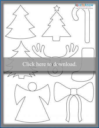 Christmas Shapes Printable