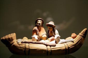 A nativity scene from Peru