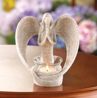 Desert Angel Tea Light Candleholder