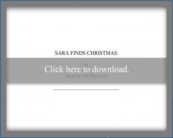 Sara Finds Christmas