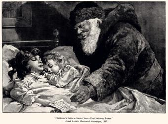 Santa Claus and the Christmas Letter