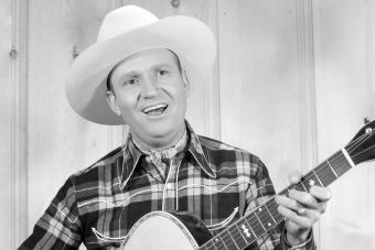 American actor and singer Gene Autry