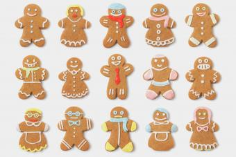 Gingerbread People Collection Assortment