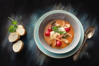 Seafood: Fish Stew Still Life