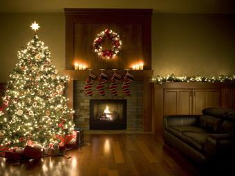 Adorned Christmas Tree