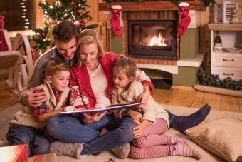 Storytelling on Christmas Eve
