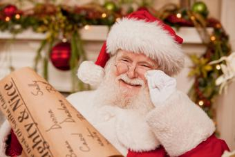 The Origins of Santa Claus and His Commercialization