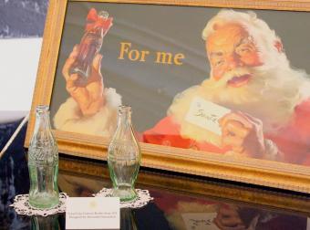 Santa Claus advertisement campaign from Coca-Cola