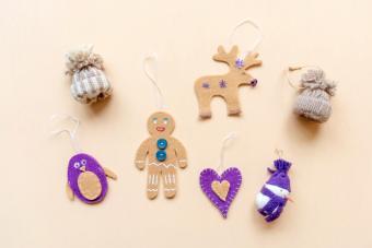 DIY Felt Christmas Ornaments and Craft Ideas