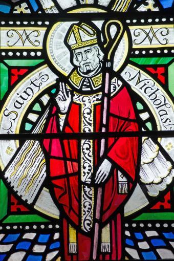 Saint Nicholas Stained Glass Window