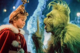 scene from the film 'How The Grinch Stole Christmas'